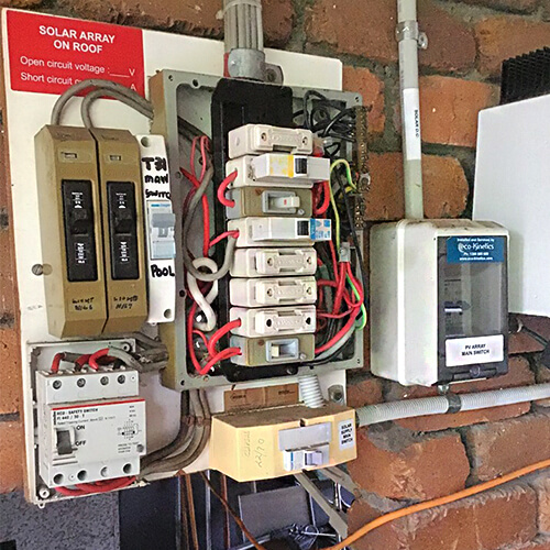 Electrical Switchboard upgrade by Oleada electricians in Capalaba, Queensland 4157