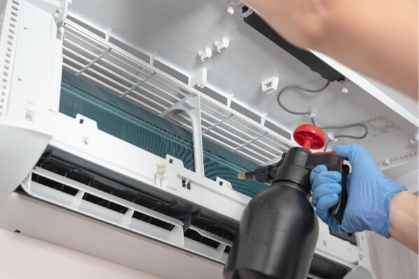 Service your air conditioner regularly
