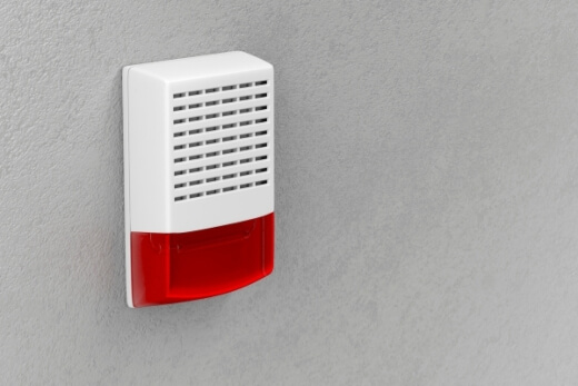 smoke alarm for hearing impaired
